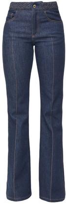 Chloé Mid-rise Flared-leg Jeans - Denim