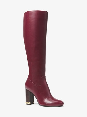 MICHAEL Michael Kors Walker Leather Boot