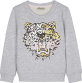 Kenzo Embroidered tiger cotton sweatshirt 2-3 years