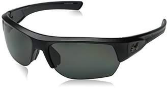 Under Armour Big Shot Sunglasses Black / Gray Polarized Lens