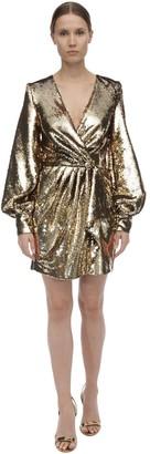 Amen Sequined Mini Dress