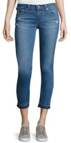 AG Jeans The Stilt Raw-Edge Cropped Jeans, 21 Years Breathless