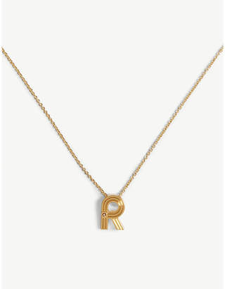 Maje R initial necklace