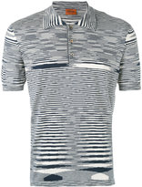 Missoni striped polo shirt - men - Cotton - 54