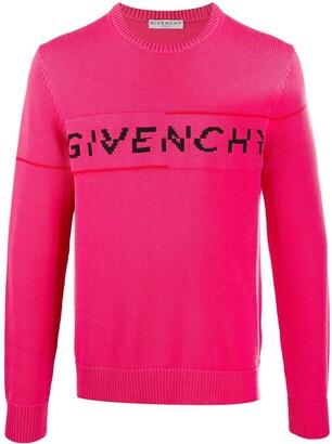 Givenchy Logo-Split Jumper