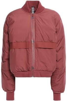 adidas by Stella McCartney + Adidas Logo-print Shell Bomber Jacket
