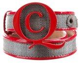 McQ Herringbone Logo Belt