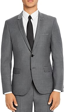 HUGO Arti Micro Houndstooth Extra Slim Fit Suit Jacket