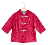 Jacadi Boys' Hooded Embroidered Raincoat