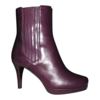 Fratelli Rossetti \N Purple Leather Ankle boots