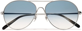 Oliver Peoples Rockmore Silver-tone Sunglasses