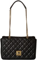 Love Moschino I Love Superquilted Flap Bag Bags