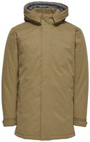 ONLY & SONS Mid-Season Hooded Mid-Length Parka