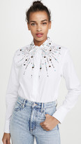 Paco Rabanne Studded Button Down Shirt