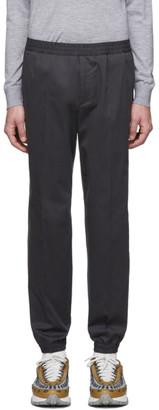 Ermenegildo Zegna Grey Jogger Trousers