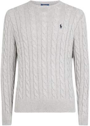 Polo Ralph Lauren Cotton Cable-Knit Sweater