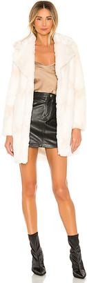 NBD Stellar Faux Fur Coat