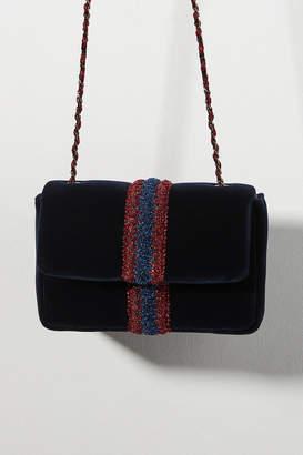 Maria La Rosa Little Velvet Crossbody Bag