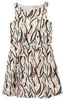 Crazy 8 Brushstroke Print Dress