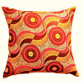 Accentuate Today Harvest African Wax Print Throw Pillow, Cover Only