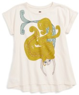 Tea Collection Toddler Girl's Finfolk Graphic Print Top