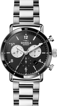 Shinola The Canfield Sport Chronograph Bracelet Watch, 40mm