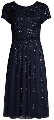 Aidan Mattox A-Line Cocktail Dress