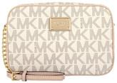Michael Kors Women's Crossbodies Vanilla - Ivory Signature Logo Crossbody Bag