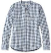 L.L. Bean L.L.Bean Double-Cloth Shirt, Gingham