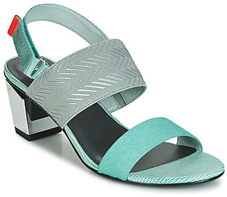 United Nude LEV SANDAL MID women's Sandals in Blue