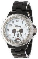 EWatchFactory Disney Women's W000501 Mickey Mouse Enamel Sparkle Bracelet Watch