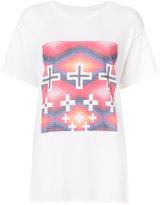 The Elder Statesman cross print T-shirt