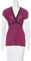 M Missoni Knit Surplice Top