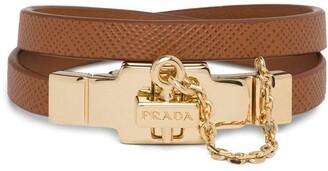 Prada Double Strap Bracelet
