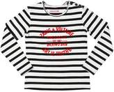 Zadig & Voltaire Zadig&voltaire Striped Printed Cotton Interlock T-Shirt