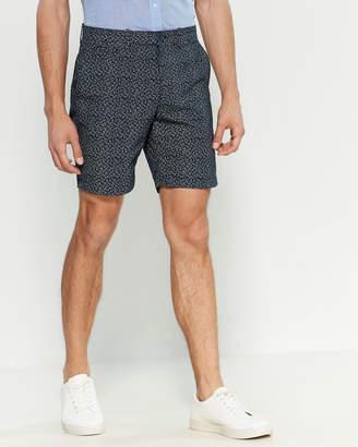Original Penguin Dot Print Slim Fit Shorts