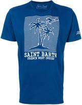 MC2 Saint Barth palm tree print T-shirt