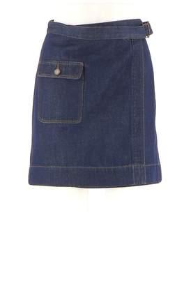 Comptoir des Cotonniers Navy Denim - Jeans Skirt for Women