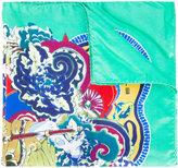 Etro floral print pocket square - men - Silk - One Size