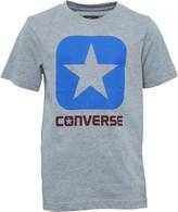 Converse Junior Boys Boxstar T-Shirt Grey Heather