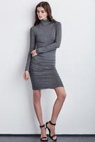 Lordes Mock Neck Lux Gauze Dress