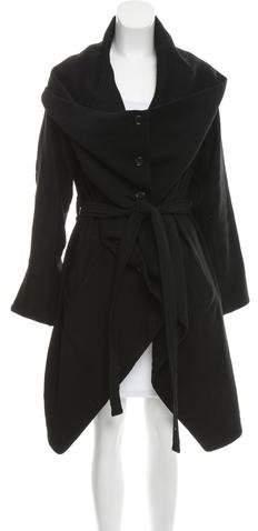 Ann Demeulemeester Oversize Knee-Length Coat