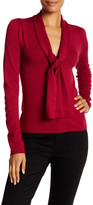 Susina Knotted Front Pullover Sweater