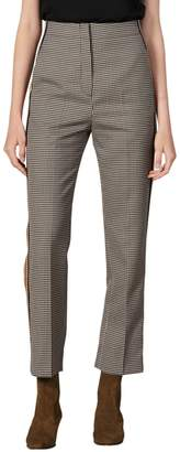 Sandro Nils Checkered Pants