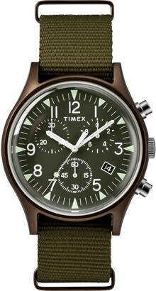 Timex MK1 Chronograph Nylon Strap Watch