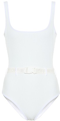 Off-White Belted swimsuit