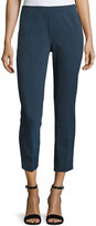 Lafayette 148 New York Stanton Cropped Pants, Medium Blue