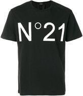 N°21 Logo Print Cotton T-shirt