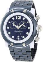 Glam Rock Women's GK1144 Miami Beach Chronograph Navy Dial Watch