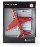 John Lewis BAE Hawk Die-Cast Plane